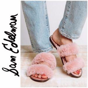 Sam Edelman Griselda Slides Pink Sandals